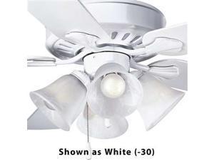 Progress Lighting Alabaster Glass Four-Light Fan Light Kit - P2616-09