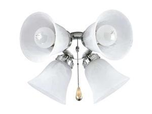 Progress Lighting Airpro Four-Light Fan Light Kit - P2610-09