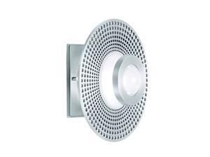CSL Lighting Vertigo 1 Light Wall / Flush Mount in Satin Aluminum - SS1002-SA