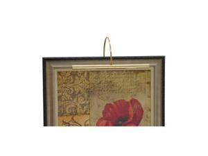 "House of Troy Advent Profile 16"" Polished Brass Picture Light - APR16-61"