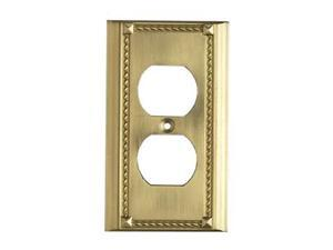Elk Lighting Brass Switch Plate - 2500BR