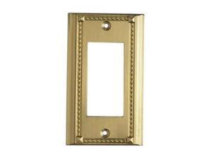 Elk Lighting Brass Single Switch Plate - 2502BR