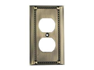 Elk Lighting Antique Brass Single Click plate - 2500AB