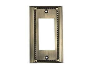 Elk Lighting Antique Brass Single Click plate - 2502AB
