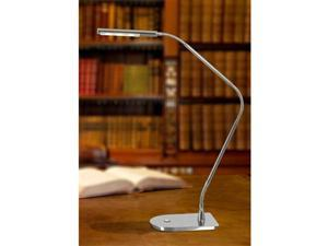 Kenroy Home Bently LED Desk Lamp, Chrome - 32174CH