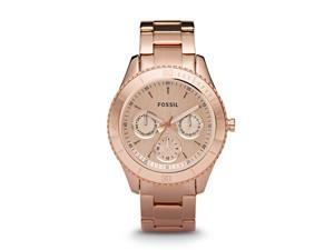 Fossil Stella Multifunction Rose Gold-plated Ladies Watch ES2859