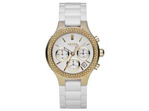 DKNY White Ceramic Ladies Watch NY4986