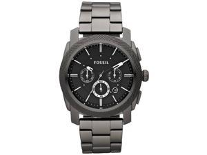 Fossil Machine Stainless Steel Watch - Smoke