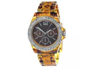 FMD Tortoise Shell Womens Watch FMDCT382