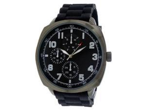 FMD Black Large Rubber Mens Watch FMDMO108