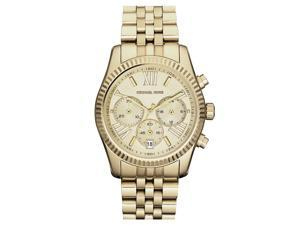 Michael Kors Lexington Chronograph Gold Tone Womens Watch MK5556