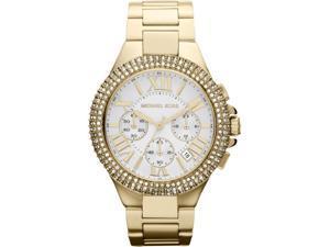 Michael Kors Camille Chronograph Cystal Gold Womens Watch MK5756