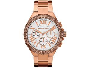 Michael Kors Camille Chronograph Rose Gold Crystal Womens Watch MK5636