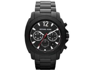 Michael Kors Chronograph Black Ion Plated Mens Watch MK8282