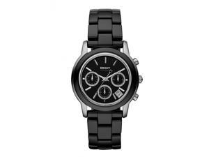 DKNY Chronograph Black Ceramic Womens Watch NY8314