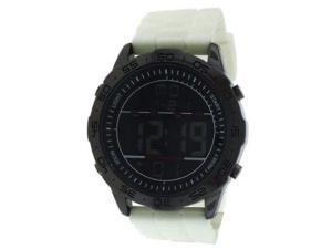FMD Multifuncion Digital White Rubber Mens Watch FMDMO100
