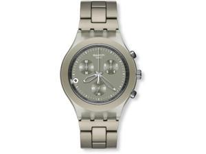 Swatch rony Full-Blooded Smokey Sand Chronograph Mens Watch SVCG4000AG