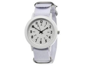 FMD White Nylon Womens Watch FMDX196