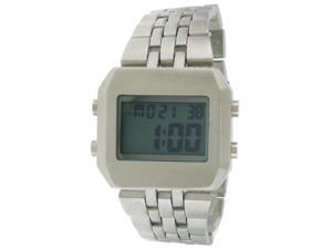 FMD Digital Stainless Steel Square Mens Watch FMDMO111