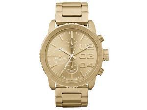 Diesel Advanced Chronograph Gold Tone Womens Watch DZ5302