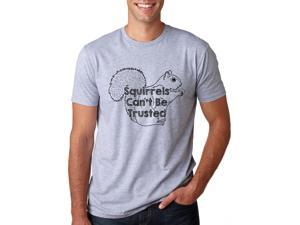 Squirrels Can't be Trusted T-Shirt Beware The Squirrel XL