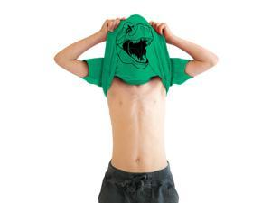 Youth Ask Me About My T-Rex T Shirt Funny Flip Up Trex Shirts For Kids L
