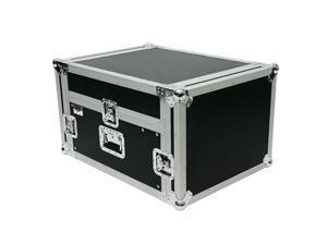 OSP MC12U-4 4 Space ATA Mixer/Amp Rack 12 Case Space deep on top slant