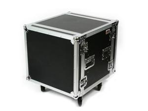 OSP SC10U-20 10 Space ATA Shock Mount Amp Rack Case w/Casters