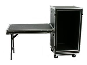 OSP SC20U-20SL 20 Space ATA Shock Mount Amp Rack Case w/Casters & Shelf