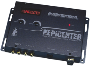 Audiocontrol THE EPICENTER GREY Bass Restoration Processor