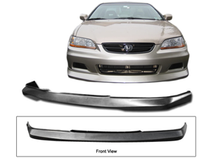 01-02 Honda Accord 2dr Coupe Oe-Type Front Bumper Lip Spoiler Urethane