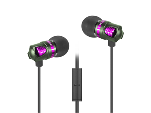 id America - Spark In-Ear Headphones Earbuds Green