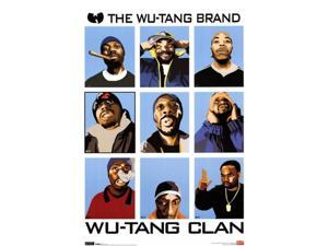 Wu-Tang Clan - Animated Poster Print (23 x 36)