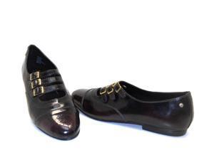 Bass Women's JANICE Buckle Classic Mary Janes Flats Burgundy Size 8M NEW!