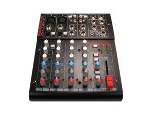 Nady MM-15USB Compact USB Mixerwith up to 15 simultaneous inputs and 10 outputs2 Mono channels with balanced Mic and Line ...