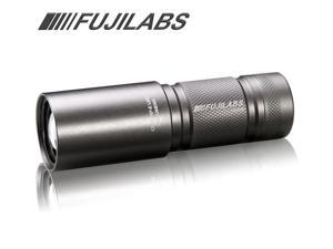FujiLabs S1 300 Lumen LED Metal Gear Focusing Flashlight