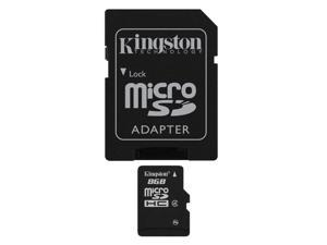 Etekcity® Kingston 8GB 8G microSDHC Class Secure microSD 4 Flash Memory Card US Seller