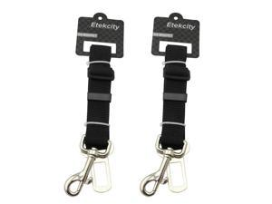 Etekcity® 2 Pack Adjustable Pet Dog Cat Safety Leads Car Vehicle Seat Belt Harness Seatbelt