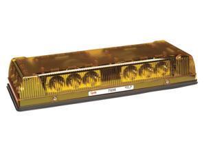 "LED Amber Low Profile Mini Lightbar Strobe 17"" Grote"