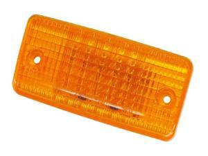 Amber LED Cab Marker Flush Mount Clearance Light NEW