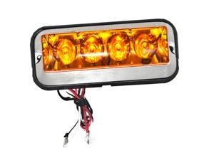 Surface Mount Amber Strobe Light Truck, Trailer, Emergency Vehicle