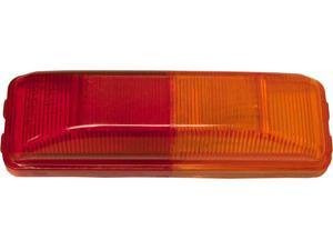 50 Pack of Amber / Red Fender Mount Clearance Marker Lights for Trucks