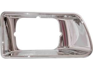 Passenger Side LH Chrome Headlight Bezel Kenworth T300 Trucks 03 - 10