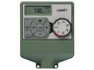 Orbit Sprinklers Timer - 4 Zone Station indoor Water Irrigation Controller 57874