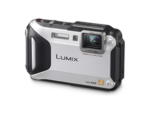 Lumix DMC-TS5 Digital Camera (Silver)
