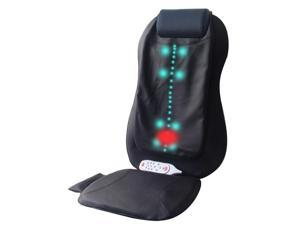 Carepeutic KH261A Deluxe Shiatsu and Swing Back Massager with Heated Therapy and Vibration Massage Cushion