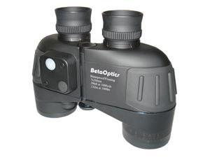 BetaOptics Military Waterproof Binocular 7x50mm w/ Compass, Range-finding Reticle, & Carrying Bag