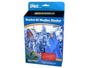 Space All Weather Hooded Blanket - Red