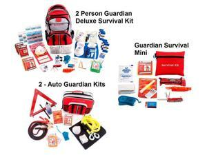 Guardian Survival 2 Person Guardian Preparedness Package