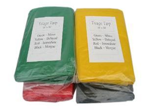 Mayday Set of 4 Triage Tarps - 16' x 20'